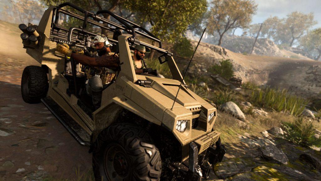 Warzone rover tattico