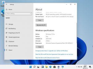 Windows 11 Prime Immagini