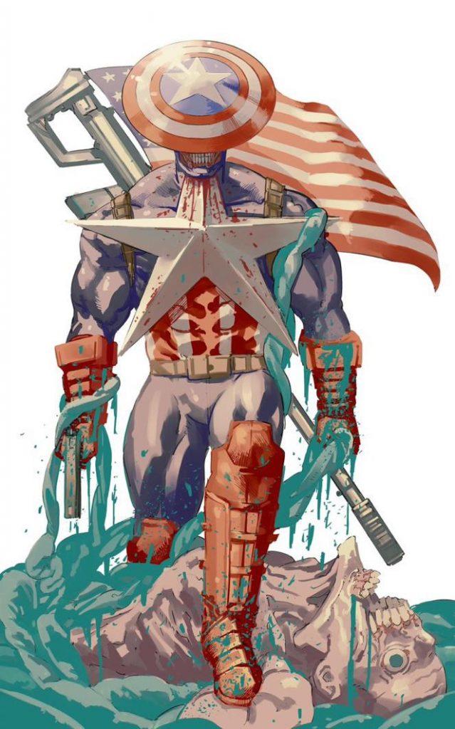 Chainsaw Man Captain America