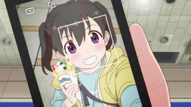 anime selfie giappone
