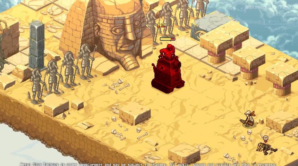 metal slug tactics gameplay