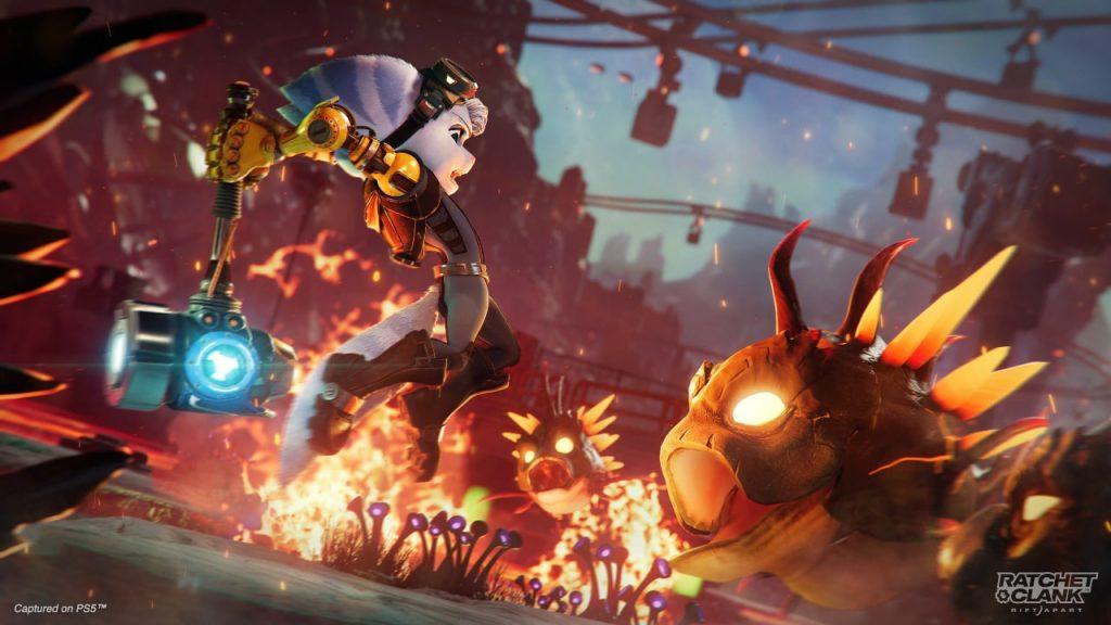 Ratchet & Clank Rift Apart Rivet