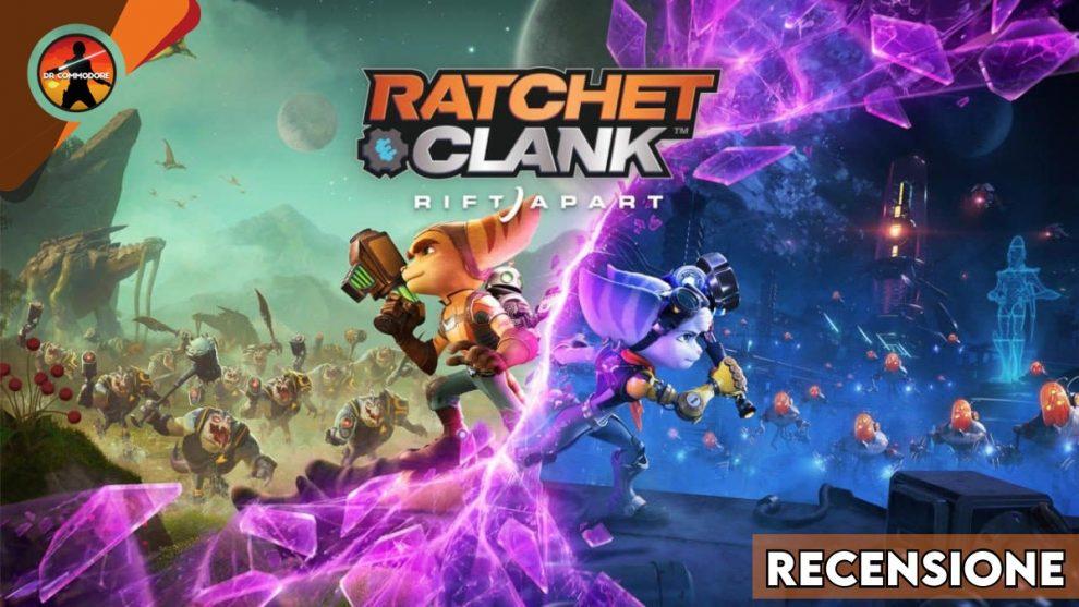 Ratchet & Clank Rift Apart recensione copertina