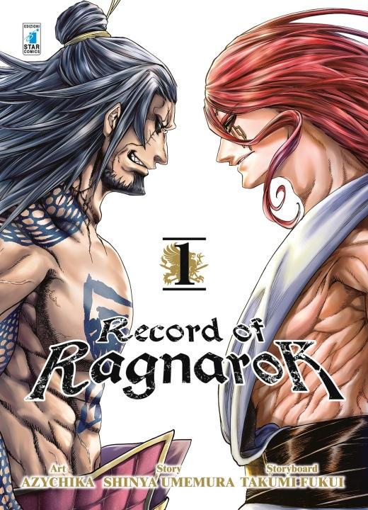 Primo volume del manga di Record of Ragnarok