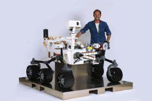 Riccardo Zangelmi Rover Perseverance LEGO