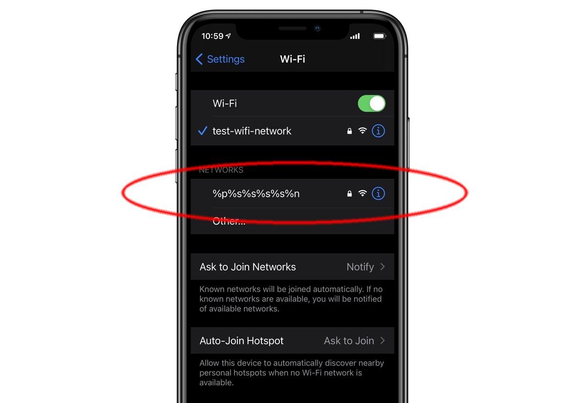 apple iphone wi-fi bug
