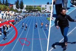 Cina cameramen vince gara 100 metri