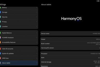 harmonyos 2.0 matepad pro 3