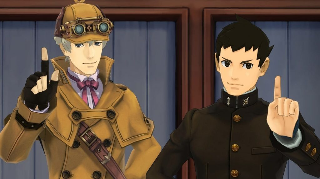 Herlock Sholmes The Great Ace Attorney Chronicles