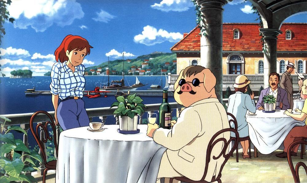 Porco Rosso Studio Ghibli