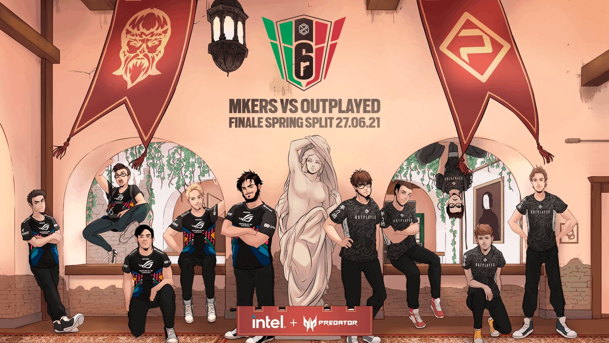 Rainbow six siege finale mkers vs outplayed