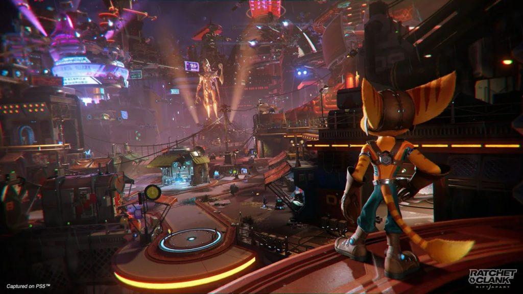 Ratchet & Clank Rift Apart Nefarious City