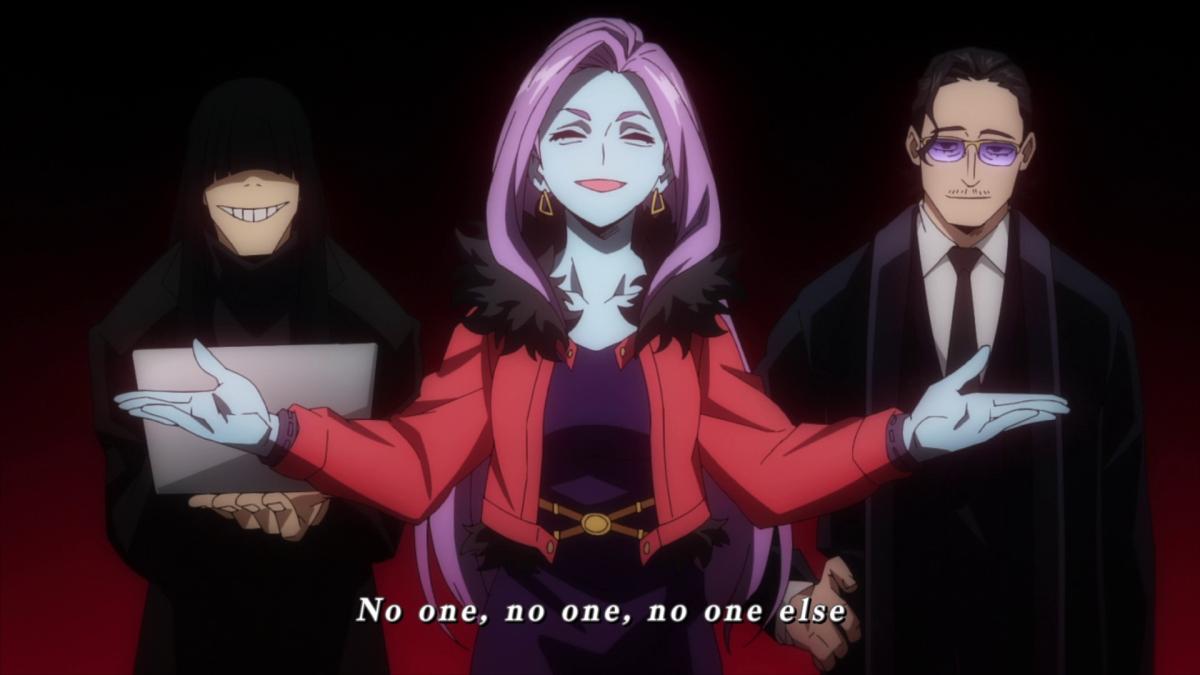 My Hero Academia - villains