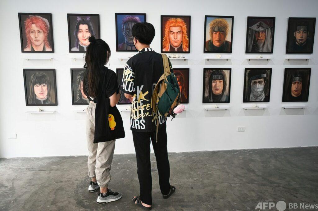 thailandia mostra anime personaggi