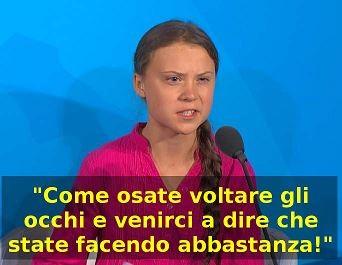 Greta Thumberg Nazioni Unite 2019