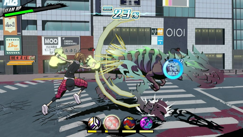 NEO: The World Ends with You beatdrop