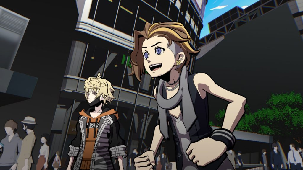 NEO: The World Ends with You Fret and Rindo