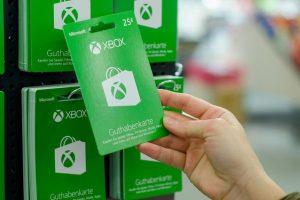 Xbox gift card di microsoft