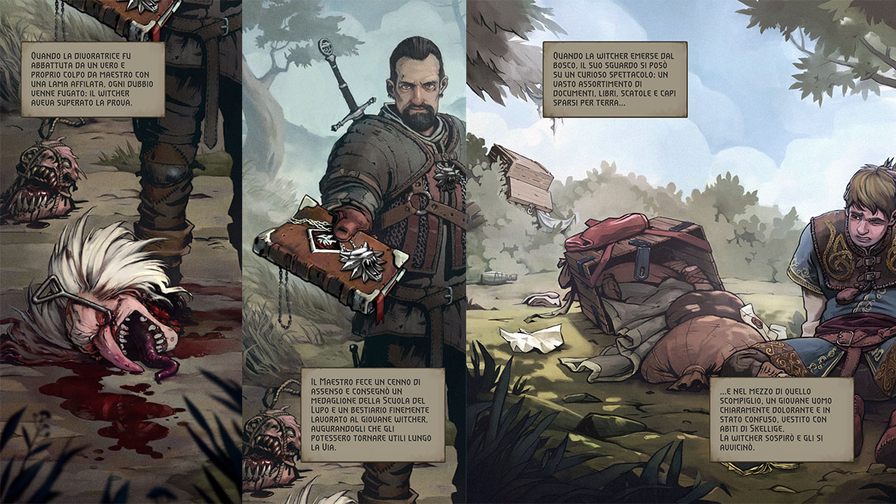 The Witcher Monster Slayer storia
