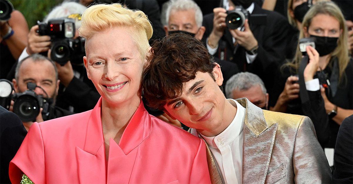 Chalamet e Swinton sul red carpet di Cannes