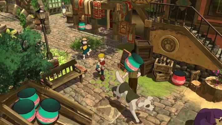 Screenshot del gameplay di baldo