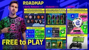 Roadmap di eFootball
