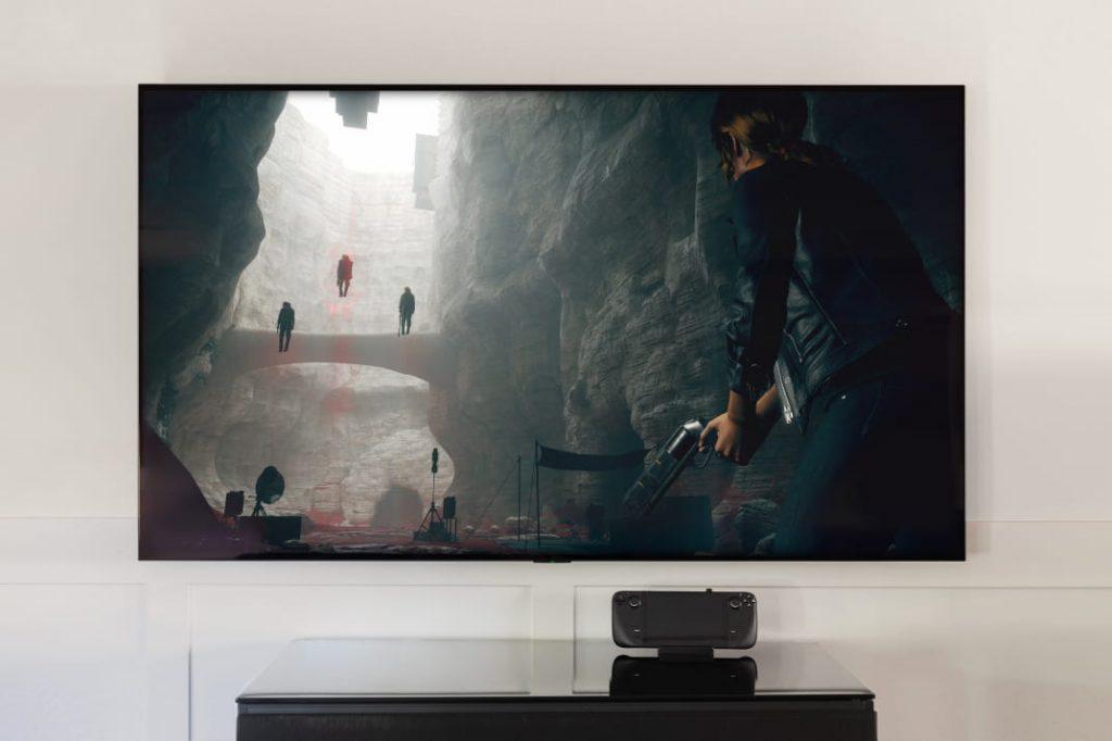Steam Deck TV