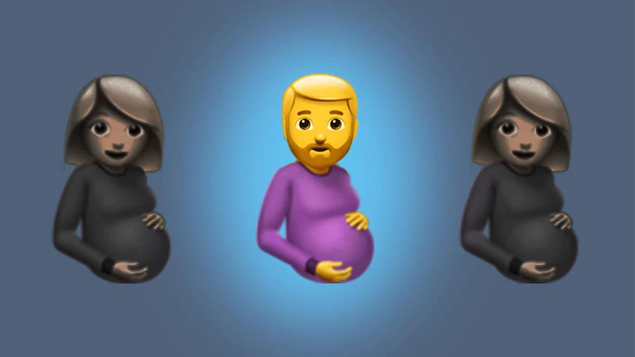 Pregnant Man, la nuova emoji del 2022