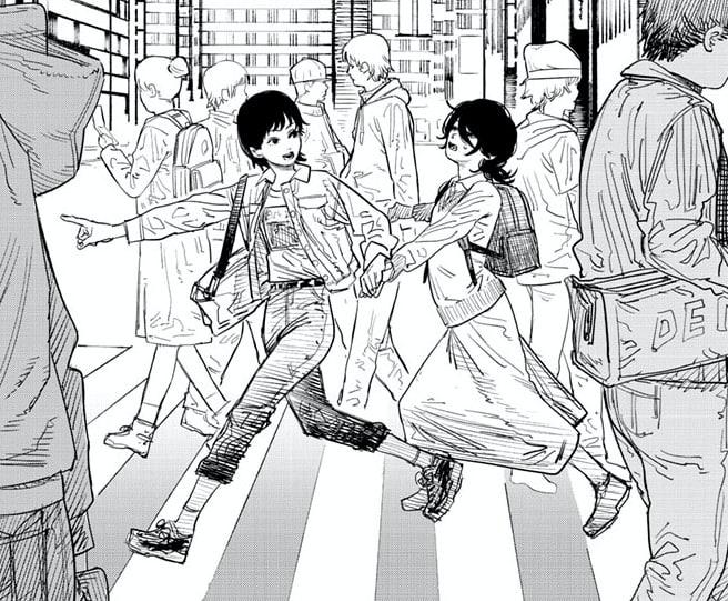 chainsaw man - tatsuki fujimoto - look back