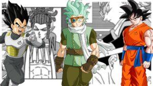 Dragon Ball Super Goku Vegeta Granola