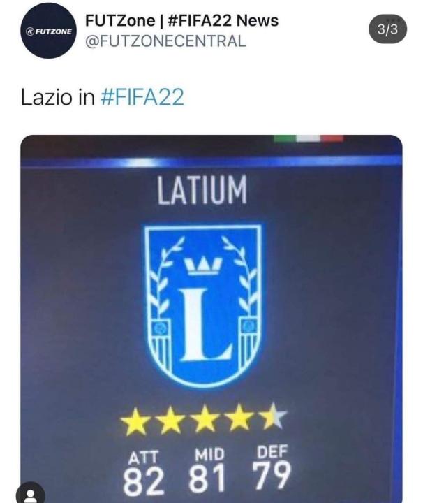 FIFA 22 Latium