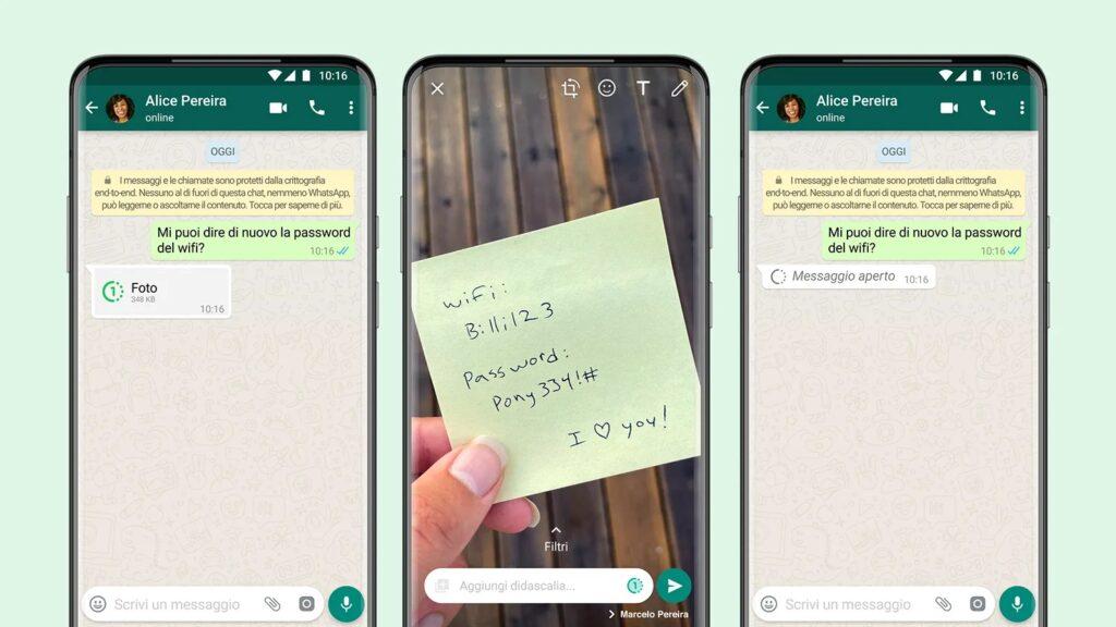 WhatsApp Una Volta