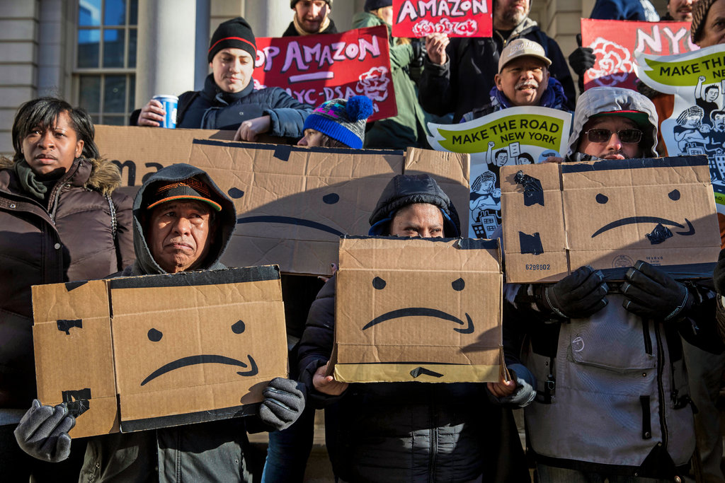 amazon proteste dipendenti