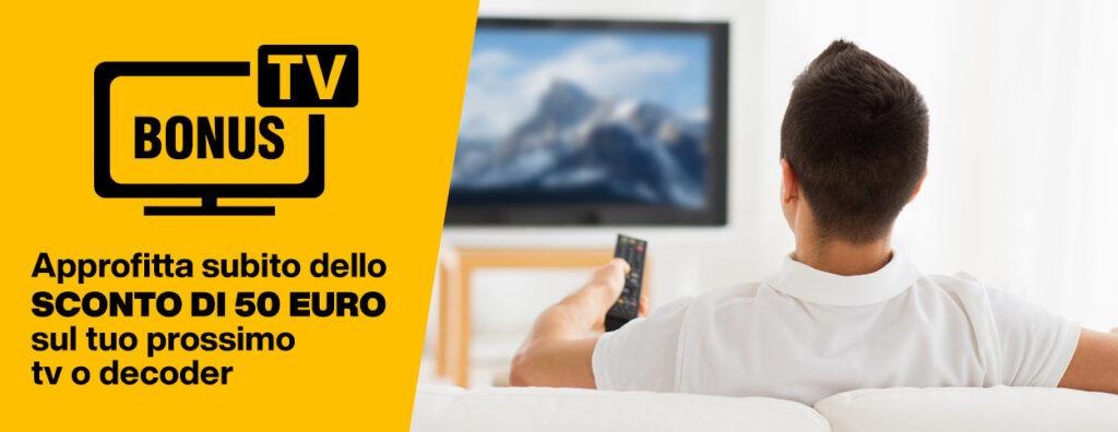 Bonus TV 2021 Agosto