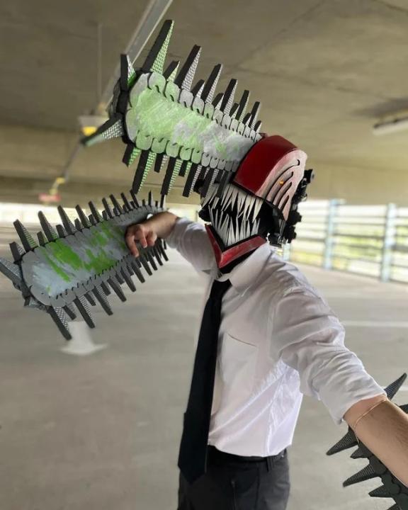cosplay denji chainsaw man