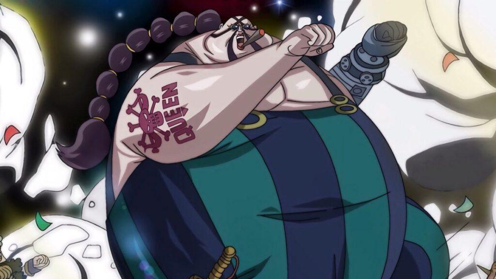 Cosplay di Queen di One Piece