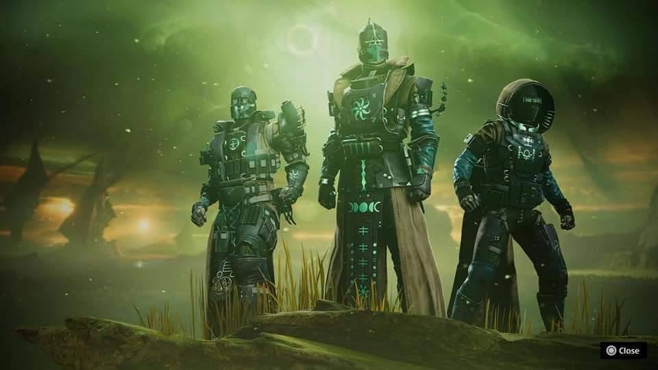 Armature guardiani destiny 2