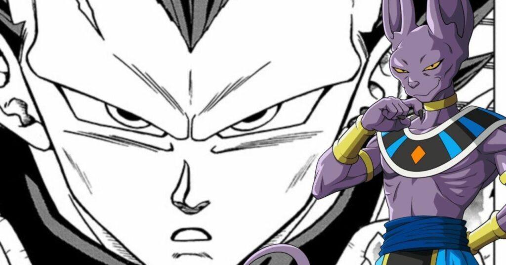 Dragon Ball Super Vegeta Ultra Ego