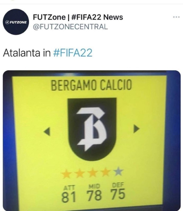 FIFA 22 Bergamo