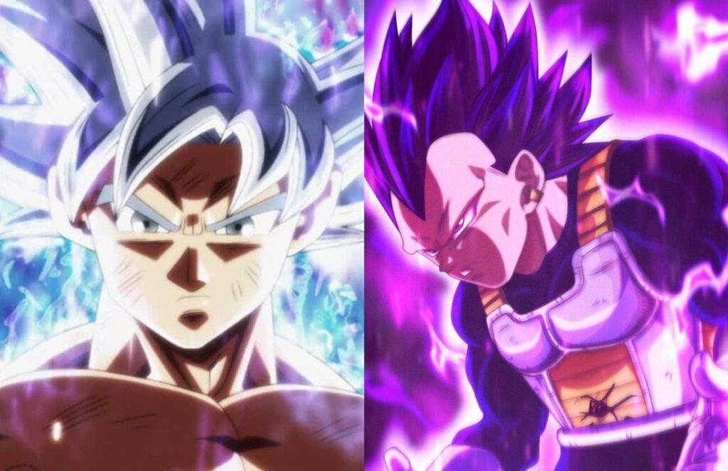 Ultra Istinto Ultra Ego Goku Vegeta
