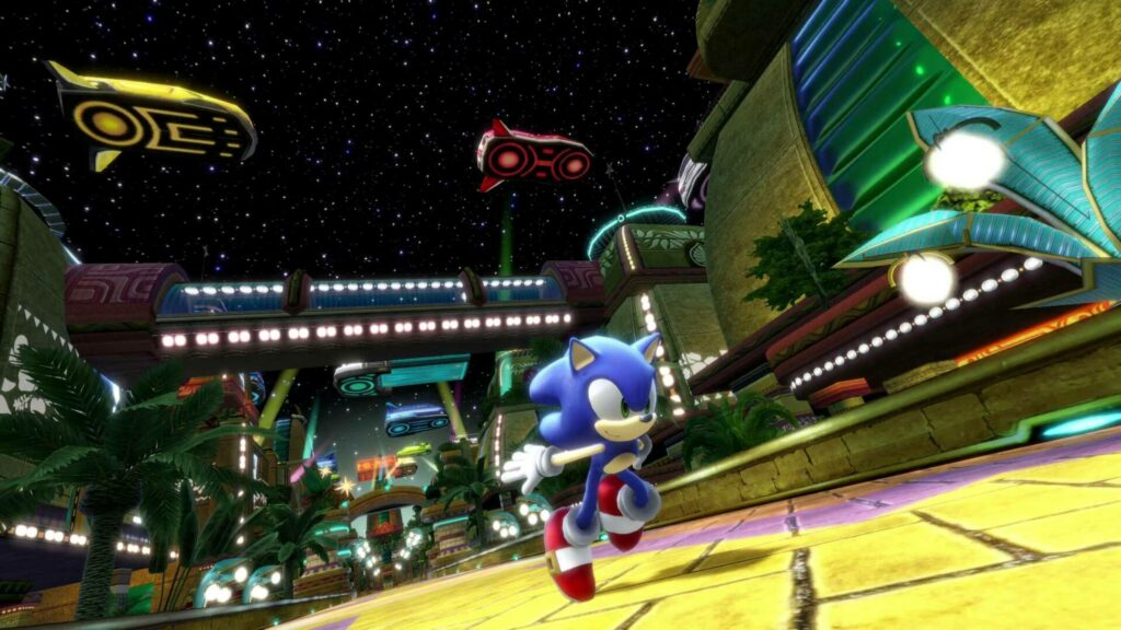 Sonic Colours Ultimate first level