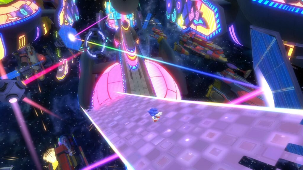 Sonic Colours Ultimate level