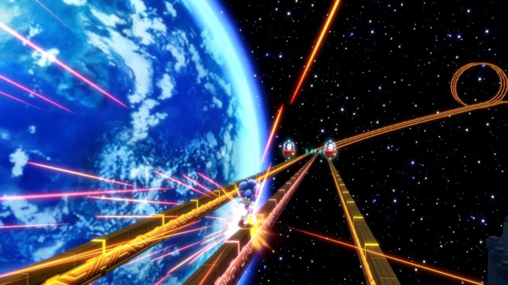Sonic Colours Ultimate space