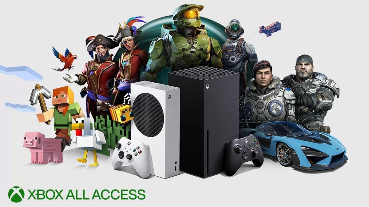 Xbox all access logo