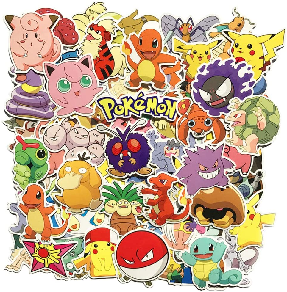 adesivi pokemon