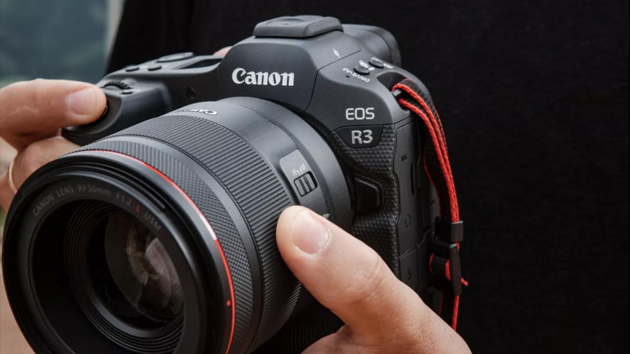 Canon EOS R3 Annuncio