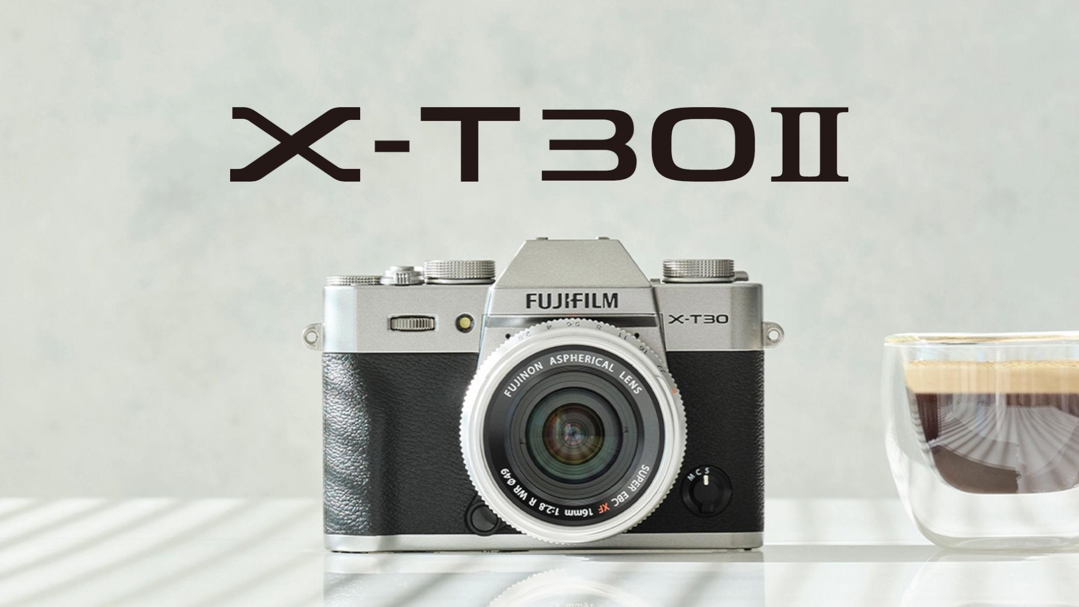 Fujifilm X-T30 II Annuncio