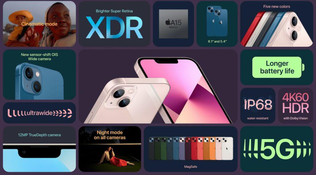 iPhone 13 caratteristiche