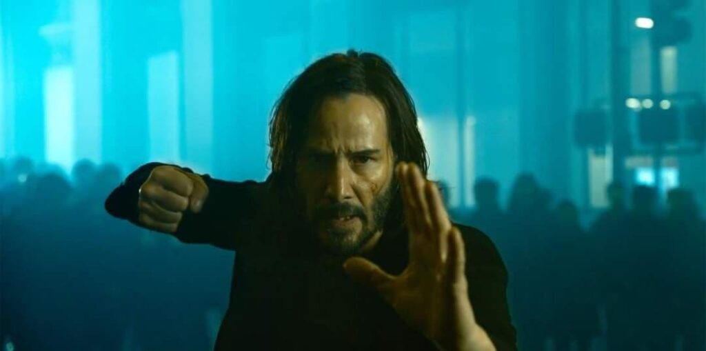 Keanu Reevs Matrix 4