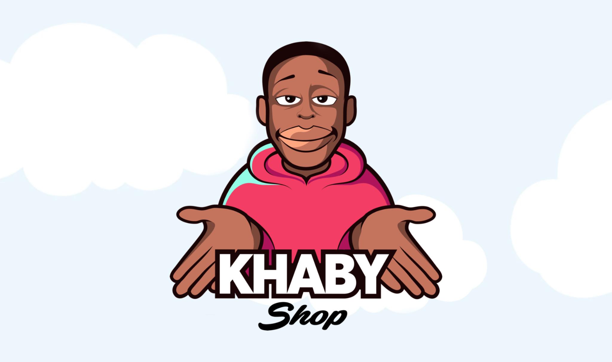 Logo Khaby Lame Shop